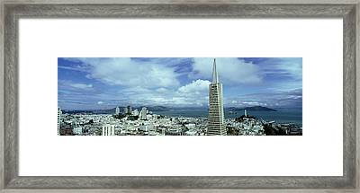 Usa, California, San Francisco, Skyline Framed Print by Panoramic Images