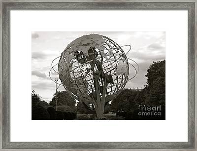 Usta National Tennis Center Framed Print by Kayme Clark