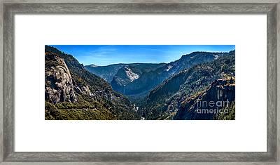 Valley Of The Gods Framed Print