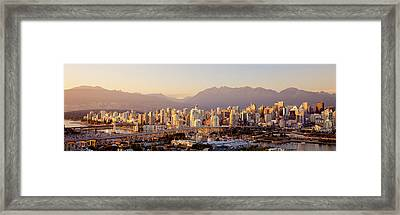 Vancouver British Columbia Canada Framed Print