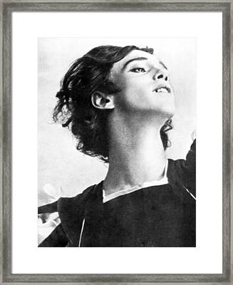 Vaslav Nijinsky, Russian Dancer Framed Print by Everett