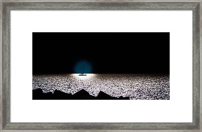 Framed Print featuring the photograph Vela by Bruno Spagnolo