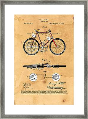 Velocipede - Dynamo Assisted Framed Print by Ray Walsh