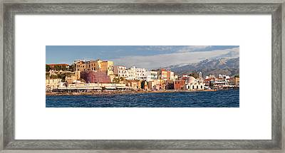 Venetian Port And Turkish Mosque Hassan Framed Print by Panoramic Images