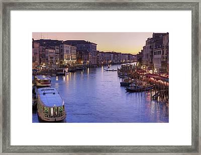 Venice Canal Grande Framed Print by Joana Kruse