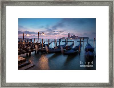 Framed Print featuring the photograph Venice Dawn by Brian Jannsen