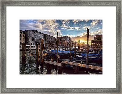 Venice Framed Print by Evgeni Dinev