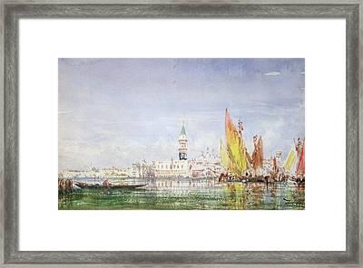 Venice Framed Print by Felix Ziem