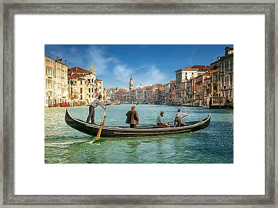 Venice Grand Canal Framed Print by Nick M