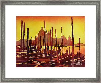 Venice Morning- Italy Framed Print by Ryan Fox