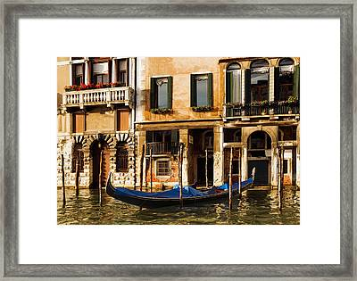 Venice Morning Framed Print