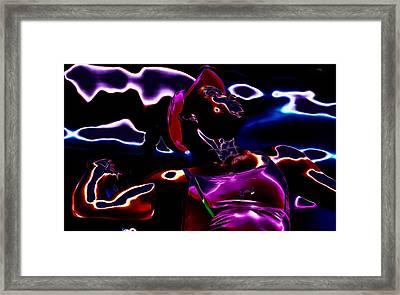 Venus Williams Match Point Framed Print