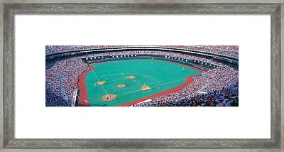Veteran Stadium, Phyllis V. Astros Framed Print by Panoramic Images
