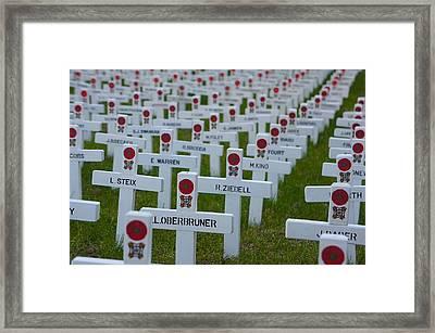 Veterans Memorial Framed Print by Art Spectrum