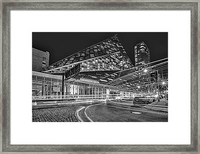 Via 57 West Nyc Framed Print by Susan Candelario