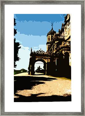 Viceregal Lodge Framed Print by Padamvir Singh