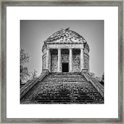 Vicksburg Illinois Memorial Framed Print by Stephen Stookey