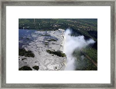 Victoria Falls Southern Africa Framed Print