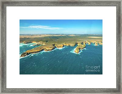 Victoria Scenic Flight Framed Print