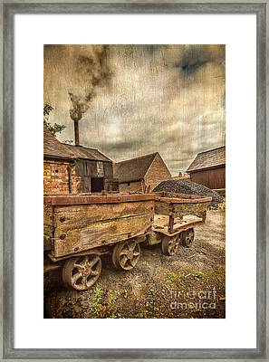 Victorian Colliery Framed Print