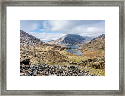 View From Glyder Fawr Framed Print
