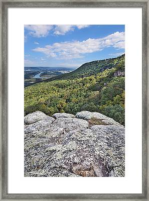 View From Sunset Rock 6 Framed Print