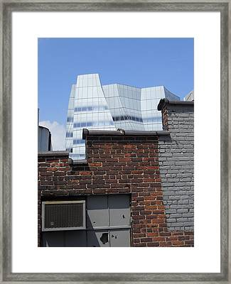 View From The High Line Framed Print by Jim Ramirez