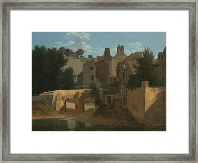 View In The Ile De France Framed Print