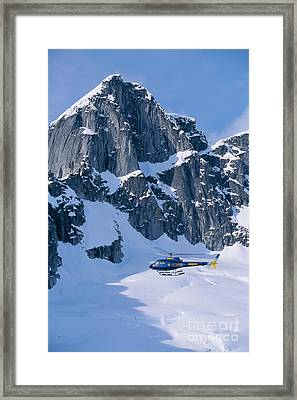 View Of Alaska Framed Print by John Hyde - Printscapes
