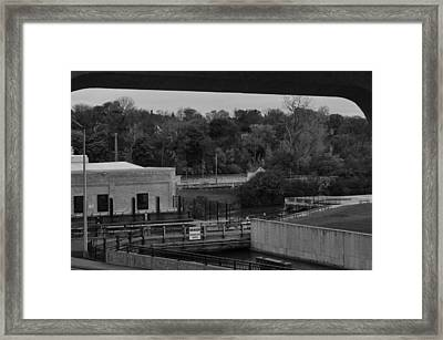 View From The Railway   Framed Print