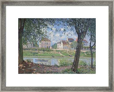 Villeneuve La Garenne Framed Print