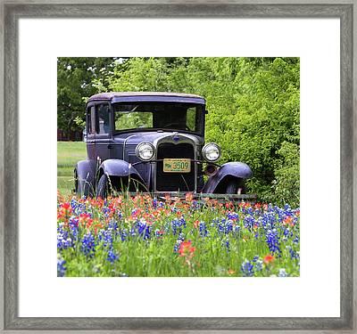 Vintage Ford Automobile Framed Print