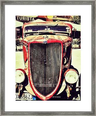 Vintage Lifestyle  Framed Print