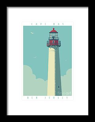 Cape May Framed Prints