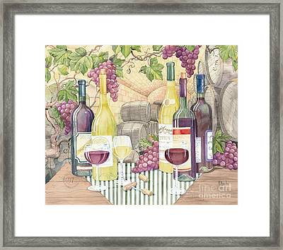 Vintage Wine II Framed Print by Paul Brent