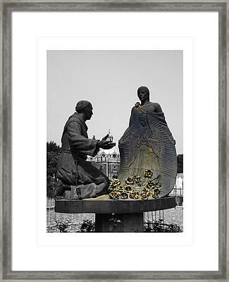 Virgen De Guadalupe 2 Framed Print