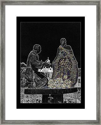 Virgen De Guadalupe 3 Framed Print