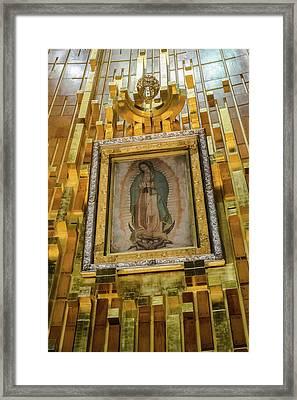 Virgen De Guadalupe Vii - Mexico Df Framed Print