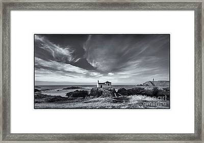 Framed Print featuring the photograph Virxe Do Porto Meiras Galicia Spain by Pablo Avanzini