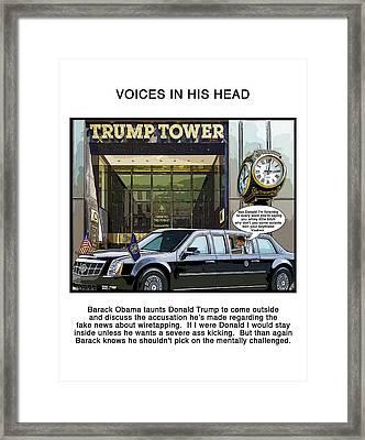 Voices Framed Print