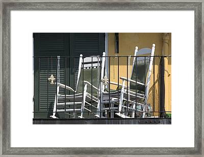 Waiting For Mardi Gras Framed Print by Lauri Novak
