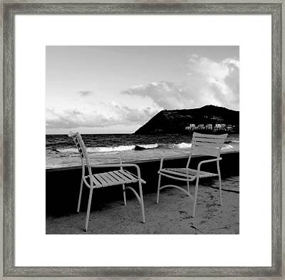 Waiting Framed Print by Ian  MacDonald