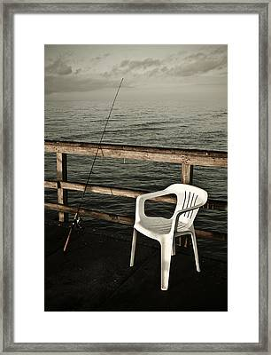 Waiting Framed Print by Marilyn Hunt