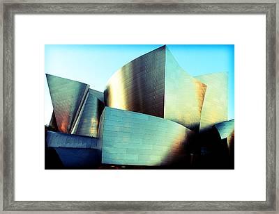 Walt Disney Concert Hall Framed Print by Ariane Moshayedi