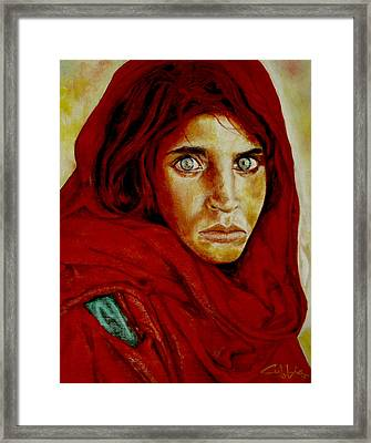 War Orphan Framed Print