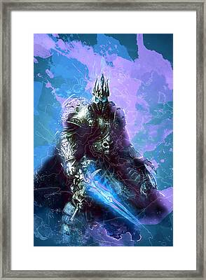 Warcraft Framed Print by Elena Kosvincheva