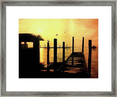 Warm Waters Framed Print by Travis  Ragan