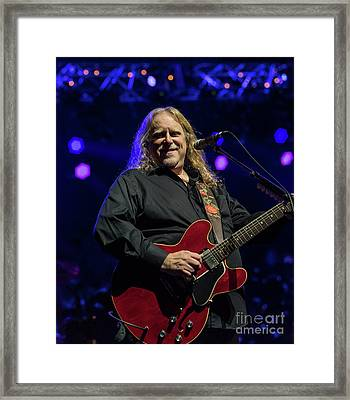 Warren Haynes Framed Print by David Oppenheimer