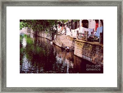 Wash Day Framed Print by Andrea Simon