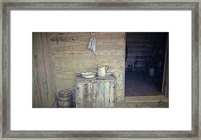 Welcome Respite Framed Print